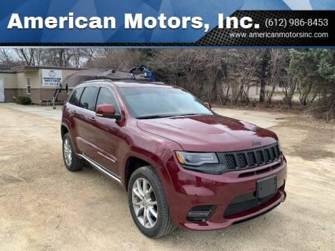 2016 Jeep Grand Cherokee for sale at American Motors, Inc. in Farmington MN