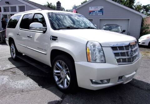 2010 Cadillac Escalade ESV for sale at Top Line Import in Haverhill MA