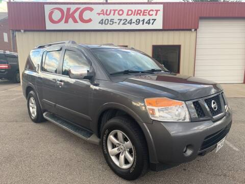2010 Nissan Armada for sale at OKC Auto Direct in Oklahoma City OK