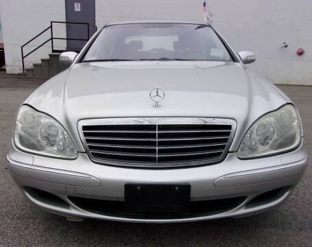 2003 Mercedes-Benz S-Class for sale at Top Line Import in Haverhill MA