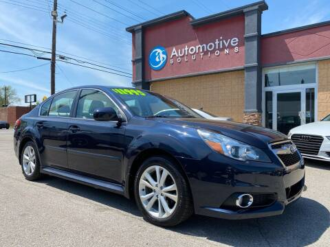 2014 Subaru Legacy for sale at Automotive Solutions in Louisville KY