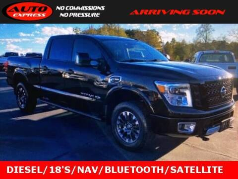 2018 Nissan Titan XD for sale at Auto Express in Lafayette IN