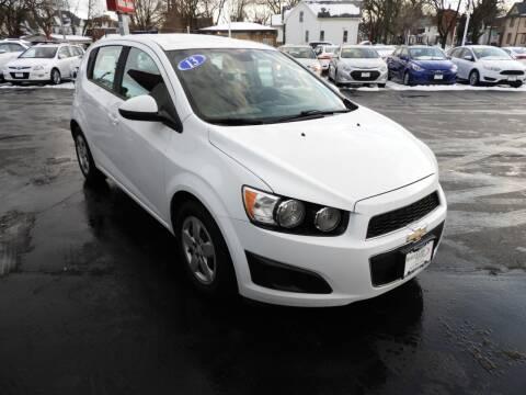 2013 Chevrolet Sonic for sale at Grant Park Auto Sales in Rockford IL