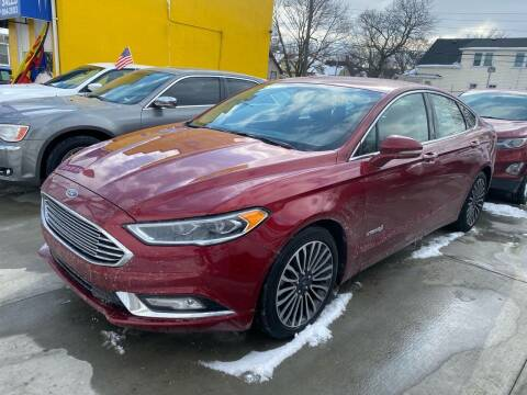 2018 Ford Fusion Hybrid for sale at C & M Auto Sales in Detroit MI
