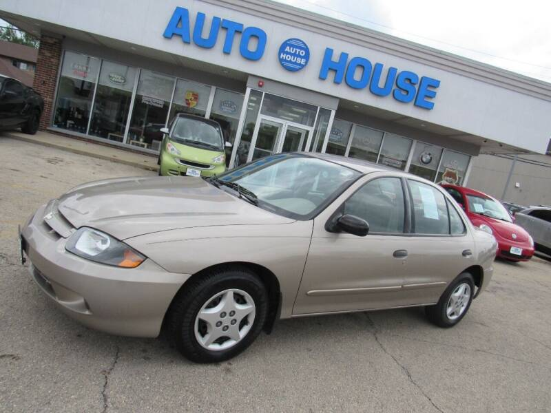 2004 Chevrolet Cavalier for sale at Auto House Motors in Downers Grove IL