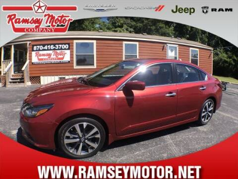 2017 Nissan Altima for sale at RAMSEY MOTOR CO in Harrison AR