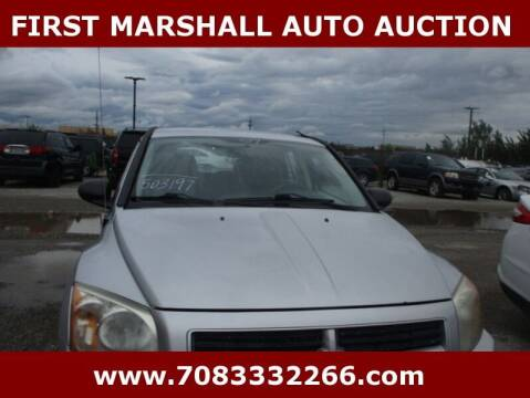 2007 Dodge Caliber for sale at First Marshall Auto Auction in Harvey IL