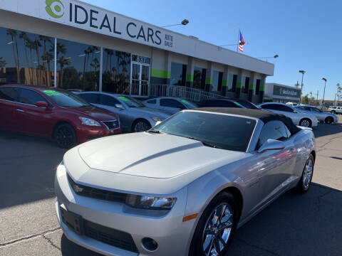 2015 Chevrolet Camaro for sale at Ideal Cars Atlas in Mesa AZ
