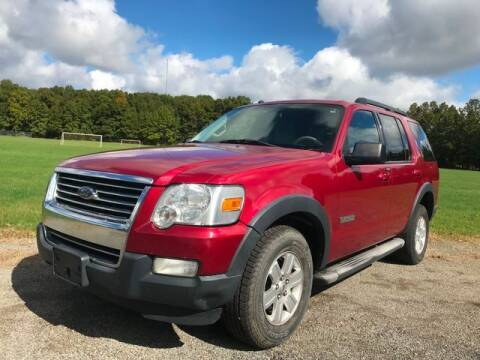 2007 Ford Explorer for sale at GOOD USED CARS INC in Ravenna OH