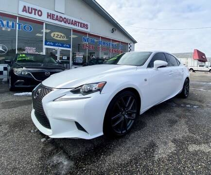 2015 Lexus IS 350 for sale at Auto Headquarters in Lakewood NJ
