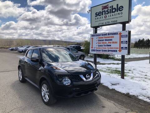 2016 Nissan JUKE for sale at Sensible Sales & Leasing in Fredonia NY