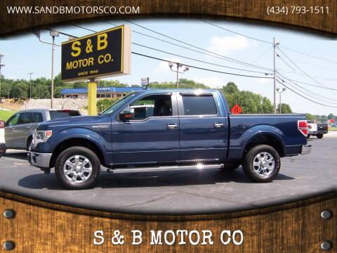 2013 Ford F-150 for sale at S & B MOTOR CO in Danville VA