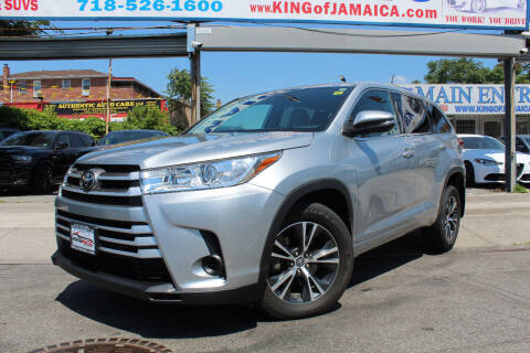 2018 Toyota Highlander for sale at MIKEY AUTO INC in Hollis NY