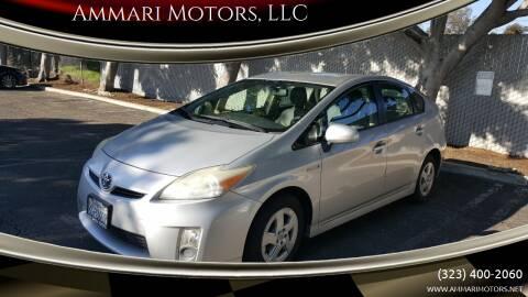 2010 Toyota Prius for sale at Ammari Motors, LLC in Gardena CA