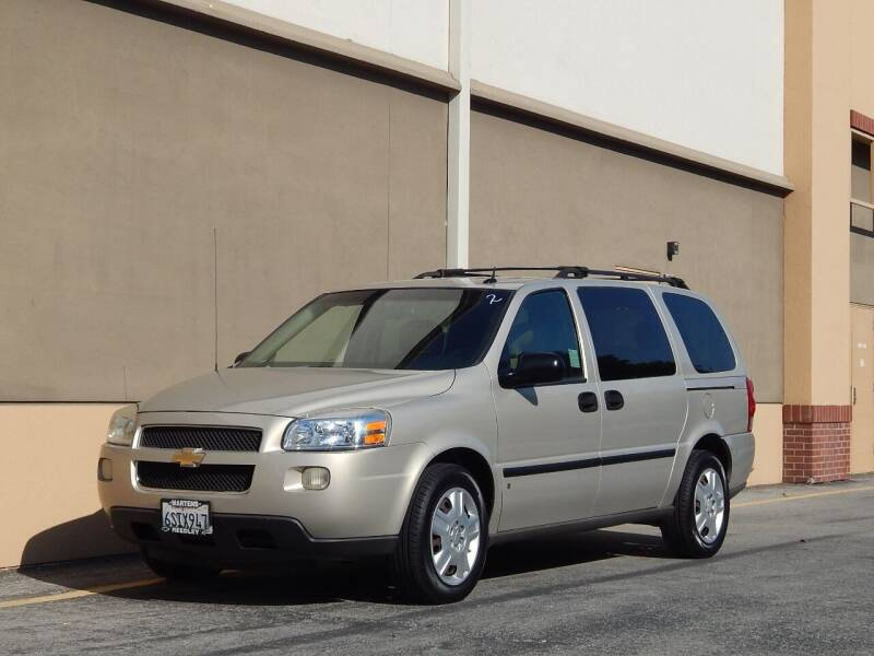 2007 Chevrolet Uplander for sale at Gilroy Motorsports in Gilroy CA