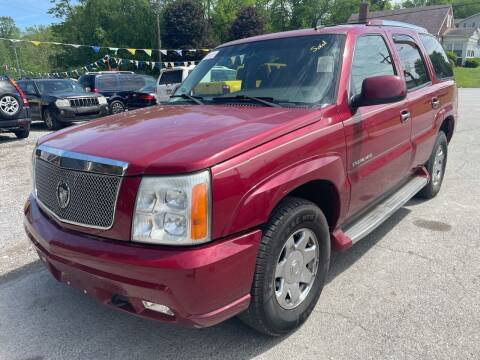 2006 Cadillac Escalade for sale at Trocci's Auto Sales in West Pittsburg PA