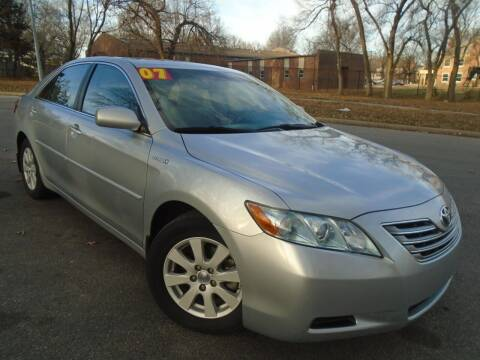 2007 Toyota Camry Hybrid for sale at Sunshine Auto Sales in Kansas City MO