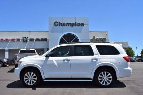 2011 Toyota Sequoia for sale at Champion Chevrolet in Athens AL