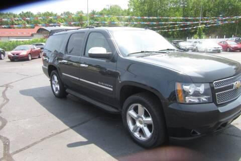 2011 Chevrolet Suburban for sale at Burgess Motors Inc in Michigan City IN