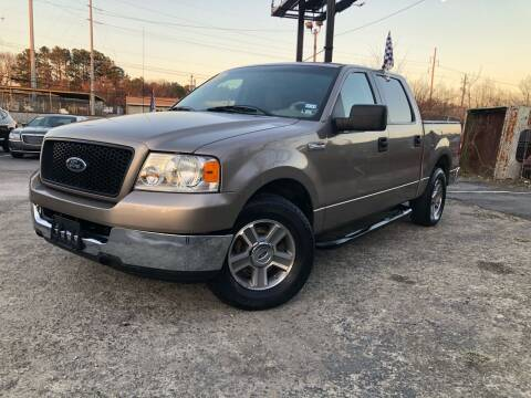 2005 Ford F-150 for sale at Atlas Auto Sales in Smyrna GA