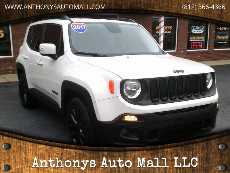 2017 Jeep Renegade for sale at Anthonys Auto Mall LLC in New Salisbury IN