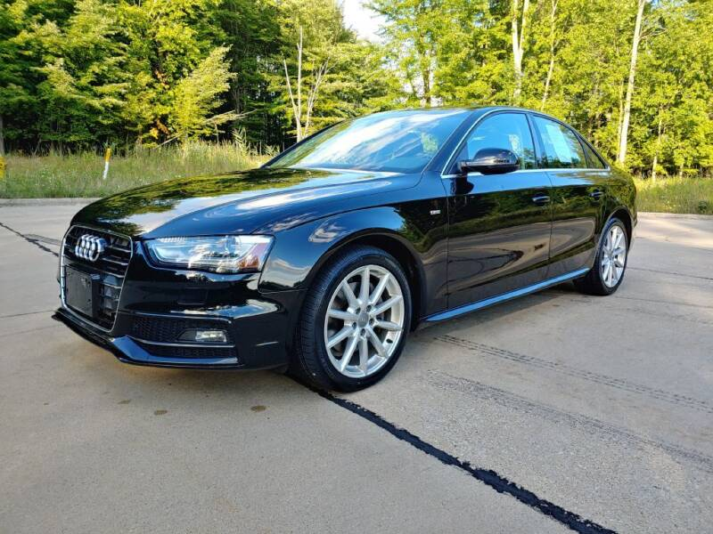 2014 Audi A4 for sale at Autolika Cars LLC in North Royalton OH