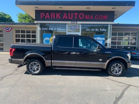 2019 Ford F-150 for sale at Park Auto LLC in Palmer MA