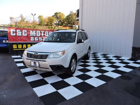 2009 Subaru Forester for sale at C & C Motor Co. in Knoxville TN