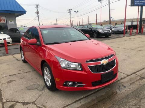 2012 Chevrolet Cruze for sale at Nationwide Auto Group in Melrose Park IL