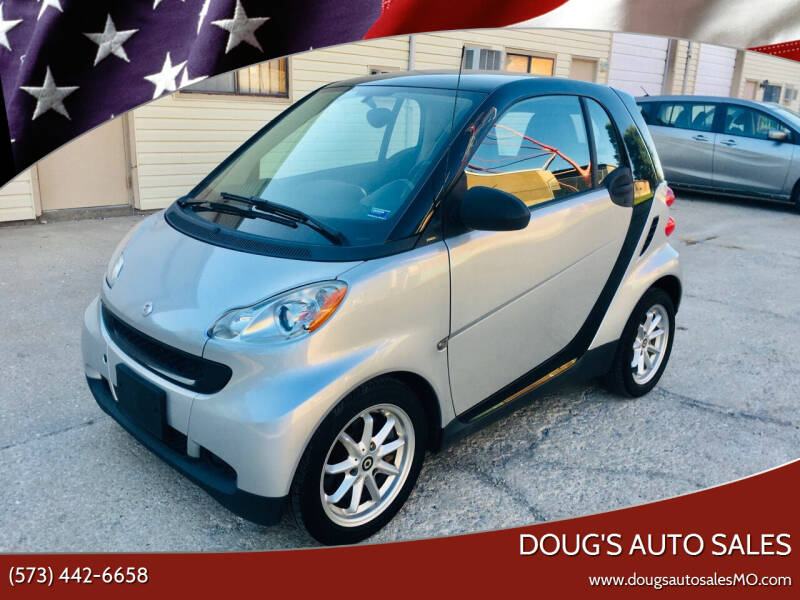 2009 Smart fortwo for sale at Doug's Auto Sales in Columbia MO