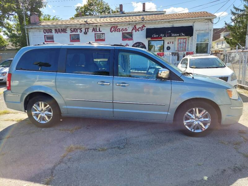 2008 Chrysler Town and Country for sale at Class Act Motors Inc in Providence RI