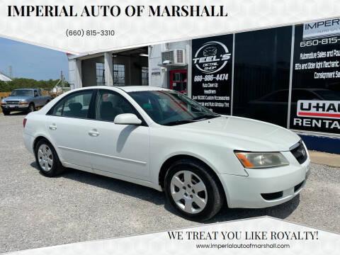 2007 Hyundai Sonata for sale at Imperial Auto, LLC in Marshall MO