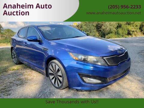 2012 Kia Optima for sale at Anaheim Auto Auction in Irondale AL