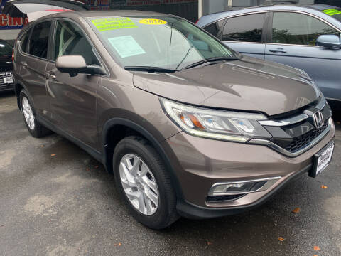 2016 Honda CR-V for sale at DEALS ON WHEELS in Newark NJ