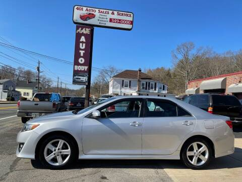2012 Toyota Camry for sale at 401 Auto Sales & Service in Smithfield RI