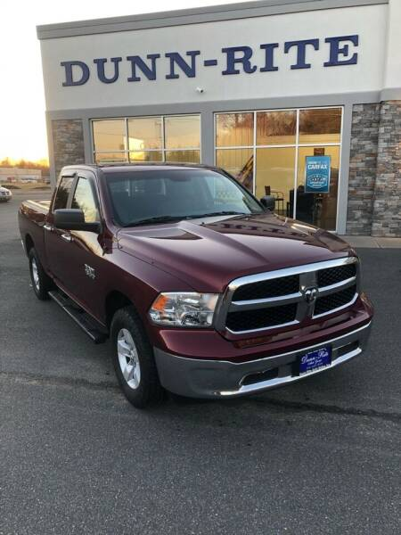 2017 RAM Ram Pickup 1500 for sale at Dunn-Rite Auto Group in Kilmarnock VA