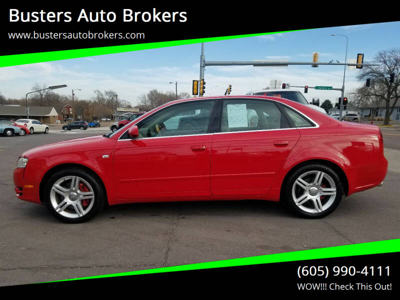 2007 Audi A4 for sale at Busters Auto Brokers in Mitchell SD