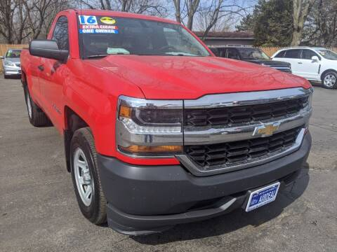 2016 Chevrolet Silverado 1500 for sale at GREAT DEALS ON WHEELS in Michigan City IN