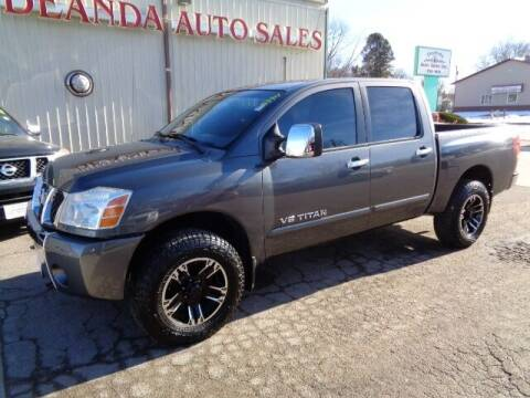2006 Nissan Titan for sale at De Anda Auto Sales in Storm Lake IA
