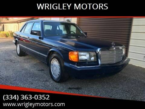 1990 Mercedes-Benz 300-Class for sale at WRIGLEY MOTORS in Opelika AL
