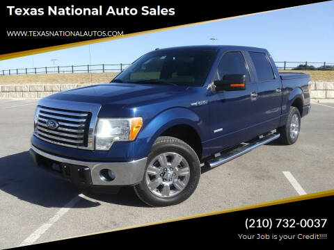 2011 Ford F-150 for sale at Texas National Auto Sales in San Antonio TX