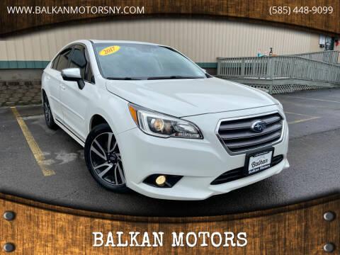 2017 Subaru Legacy for sale at BALKAN MOTORS in East Rochester NY