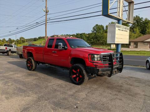2010 GMC Sierra 2500HD for sale at Route 22 Autos in Zanesville OH