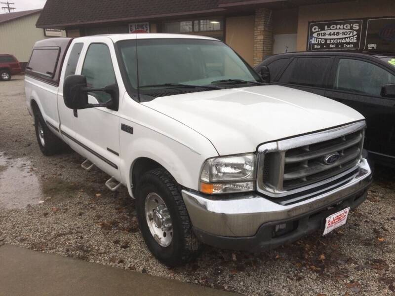 1999 Ford F-250 Super Duty for sale at G LONG'S AUTO EXCHANGE in Brazil IN