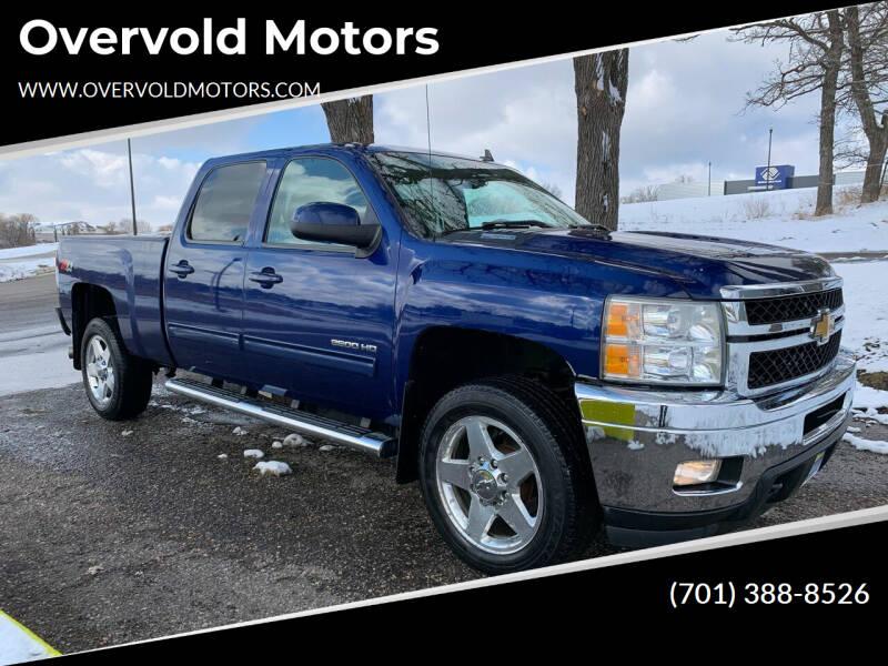 2013 Chevrolet Silverado 2500HD for sale at Overvold Motors in Detriot Lakes MN