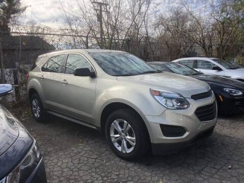2016 Chevrolet Equinox for sale at SOUTHFIELD QUALITY CARS in Detroit MI