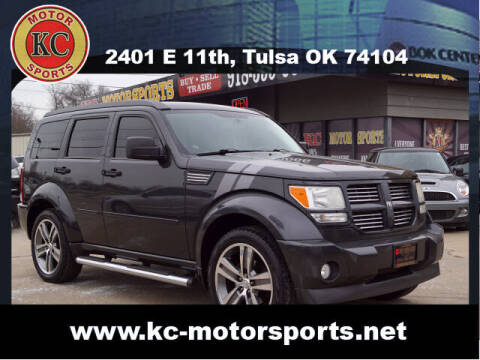 2011 Dodge Nitro for sale at KC MOTORSPORTS in Tulsa OK