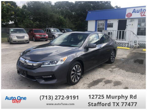 2017 Honda Accord Hybrid for sale at Auto One USA in Stafford TX