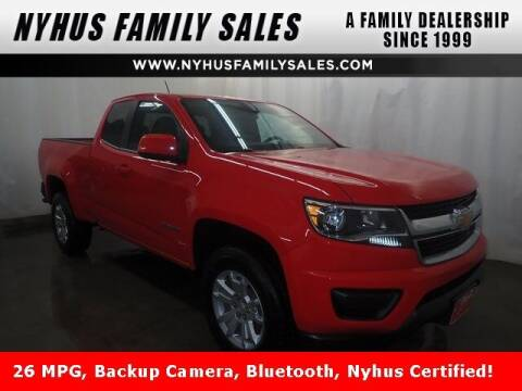 2018 Chevrolet Colorado for sale at Nyhus Family Sales in Perham MN