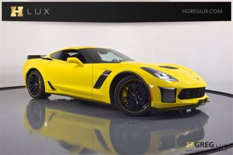 2015 Chevrolet Corvette for sale at HGREG LUX EXCLUSIVE MOTORCARS in Pompano Beach FL